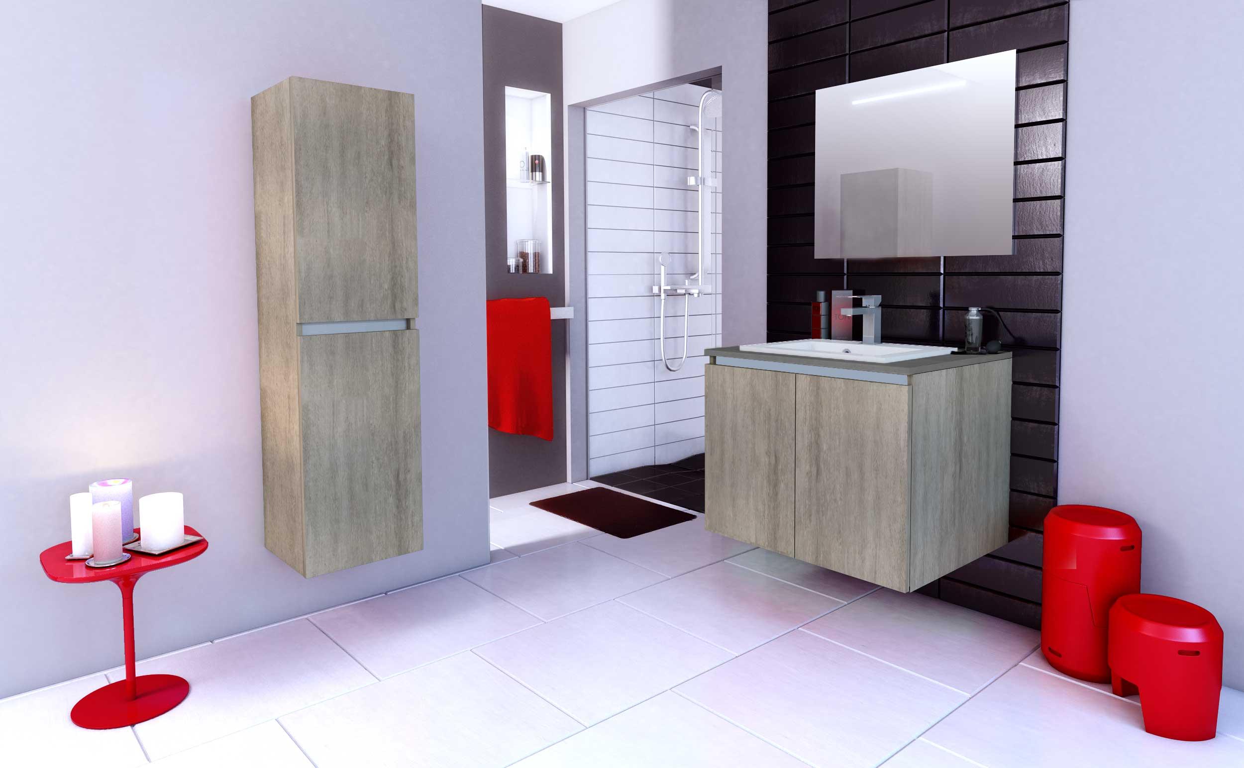 salles de bain bois