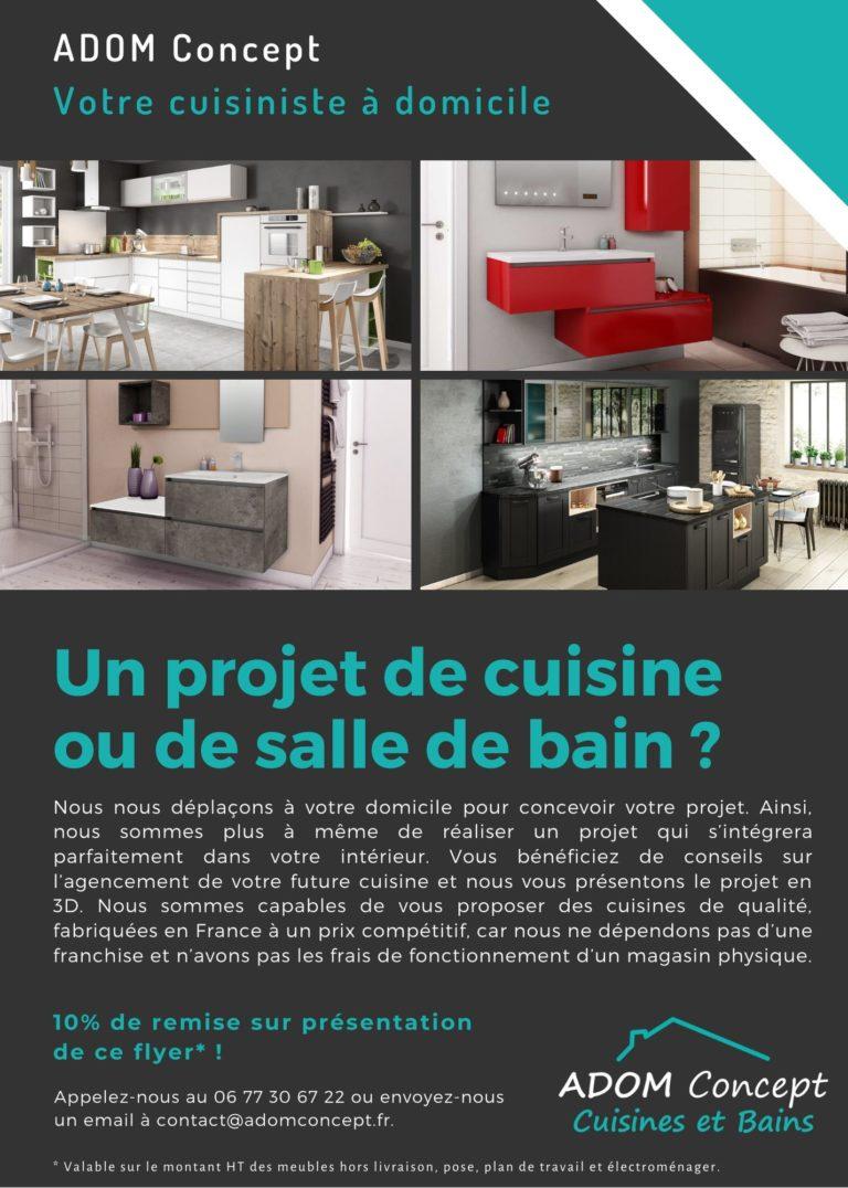 ADOM Concept cuisiniste à domicile La Rochelle